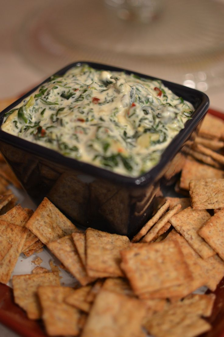 """At least that's what I call it. I'm working on a better name. Like…maybe…umm..""""The most amazing spinach dip I've ever made?"""" And it came from the back of t…"""
