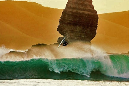 New Caledonia surfing