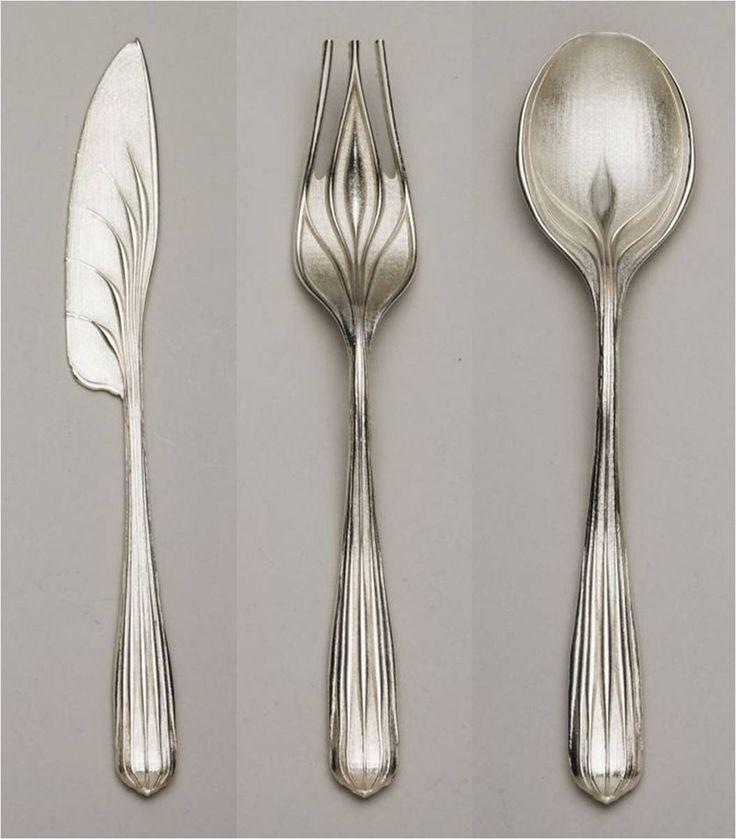surreal silverware by Greg Lynn
