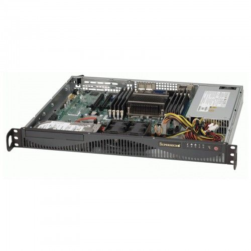 SM06-1/30-RACK(1U)-E31230V3/32GB/2BAY  • RackMount 1U Chassis 350W PSU • 2x 3.5″ SATA Fixed Internal Drive Bays • Intel Xeon E3-1230V3 3.3GHz Quad-Core 8MB 1150 • 32GB DDR3-1600 UDIMM • 2x WD 1TB Enterprise Drives (RAID 1 for OS) • Assembly & Testing Included (48Hrs)