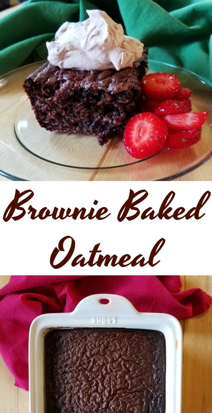 The taste of brownies is now an acceptable breakfast. It is really loaded with oatmeal and yogurt.  Go ahead and make some, I dare you!