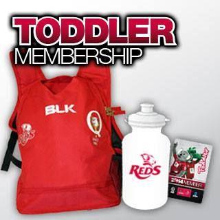 Queensland Reds toddler pack