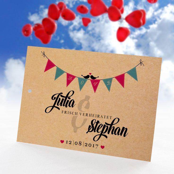 Ballonkarte Hochzeit Boho Style mit Namen & Adresse: https://www.meine-hochzeitsdeko.de/ballonflugkarten-hochzeit-boho-style
