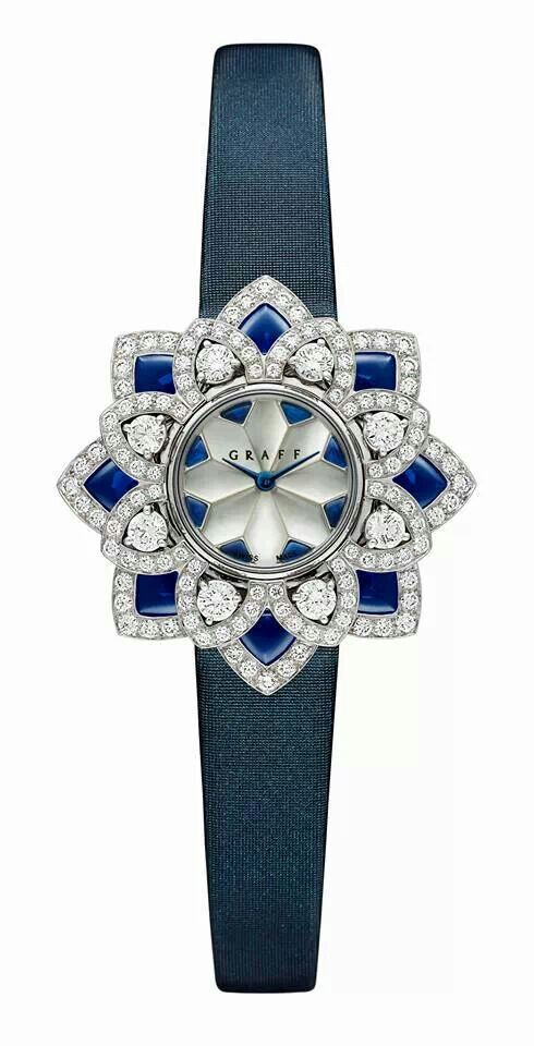 Sparkling Graff Flower Watch | The House of Beccaria#