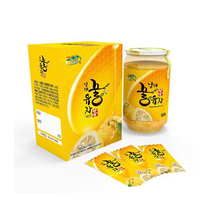 Anti-Stress Delicious Vitamin C Fruit Tea Korean Honey Citrus Tea 30g X 10bags #DonguiChosukjam