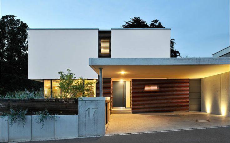 1016 Einfamilienhaus, Neubau   a.punkt architekten