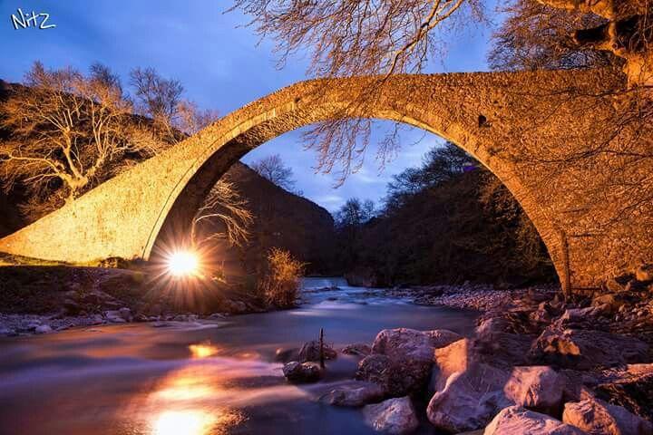 Agios Vissarionas arch, Trikala, Greece
