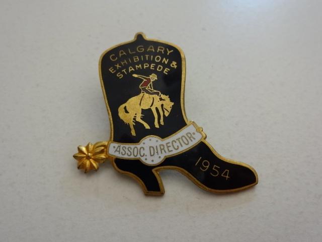 1954 Calgary Stampede Associate Director