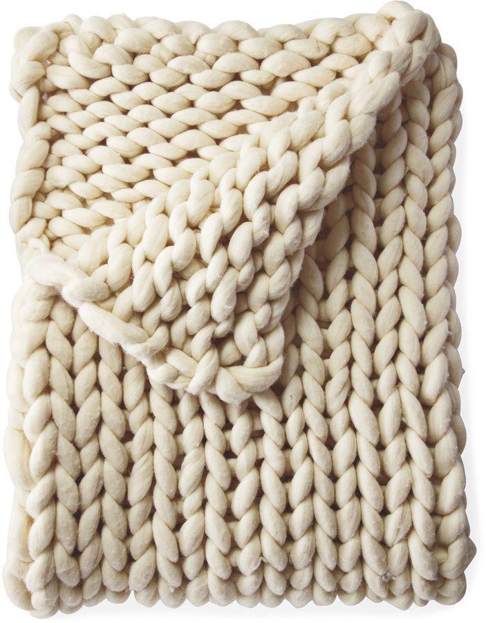 Henley Wool Throw. #aff