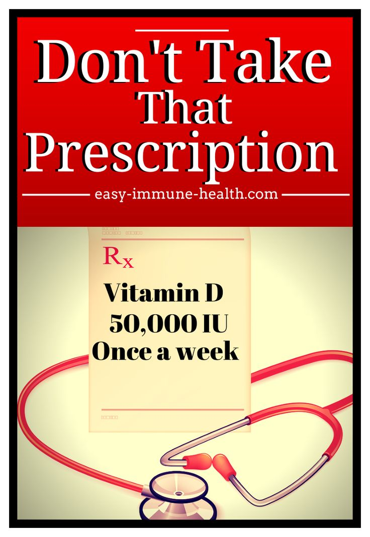Taking prescription vitamin D? YOu might want to think twice about that. Prescription vitamin d is not suitable for supplementation.   http://blog.easy-immune-health.com/prescription-drugs/prescription-vitamin-d-not-suitable-for-supplementation/