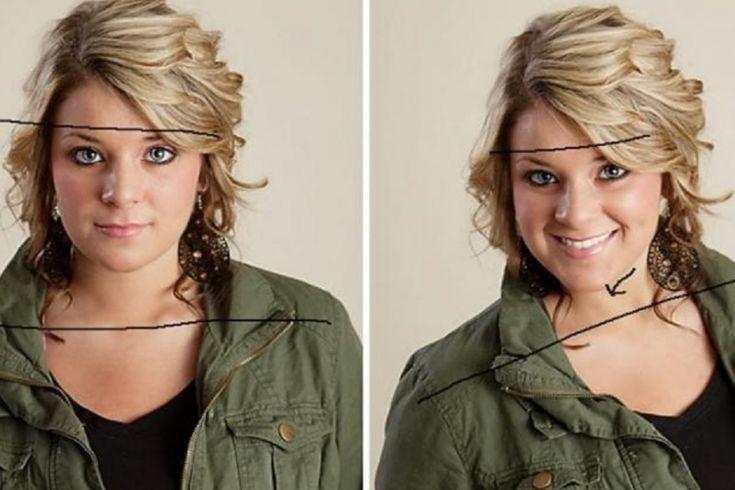 Elle partage 6 astuces pour toujours bien paraître sur des photos! La différence est frappante!