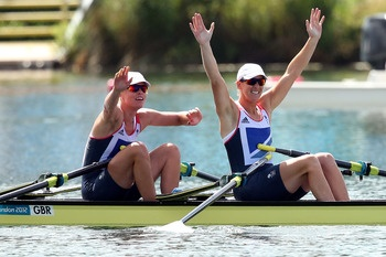 Women's Double Sculls Rowing   Gold: Anna Watkins & Katherine Grainger, Great Britain  Silver: Kim Crow & Brooke Pratley, Australia  Bronze: Magdalena Fularczyk & Julia Michalska, Poland