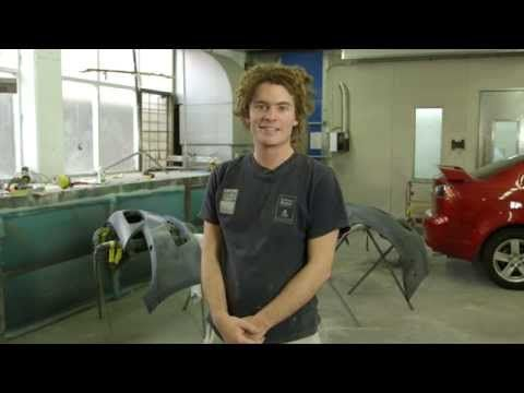 Rowan's a #car finishing #apprentice. He loves #earning while #learning. See how he's #GotItMade #GotATrade https://www.youtube.com/watch?v=3fpGuGjnxG0