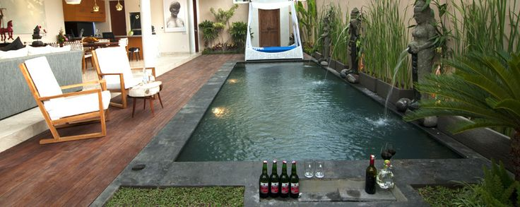 Relax in our pools  #bali #pool #holiday #villa