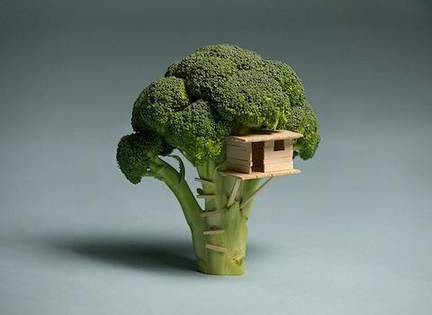 Brock Davis' weird and wonderful food art on Flavorpill.