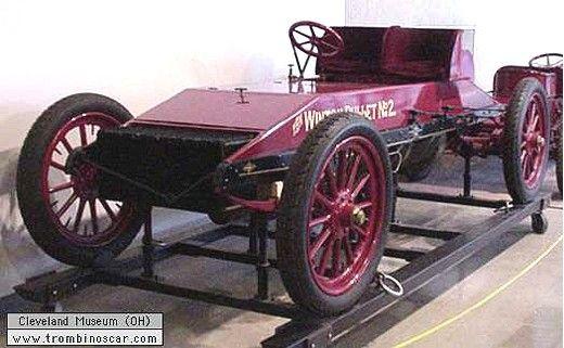Winton Bullet 2 Racer, voiture de course de 1903  La Winton Bullet 2 Racer, ce véhicule de course et de collection fut fabriqué en 1903, exemplaire unique, carrosserie biplace de compétition - moteur 8cyl de 1090ci - 80cv.