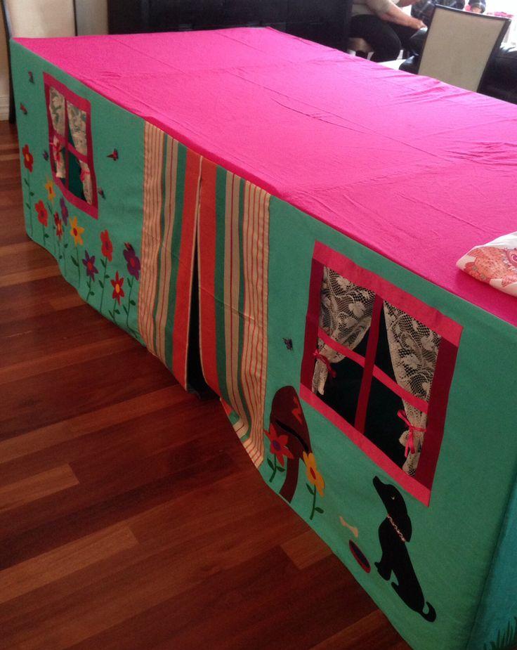 Tafeltent - zelf maken, of creatieve vriendinnen omkopen