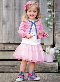 Pumpkin Patch know how to put together the cutest outfits! Tip: You can never go wrong with a tulle skirt.