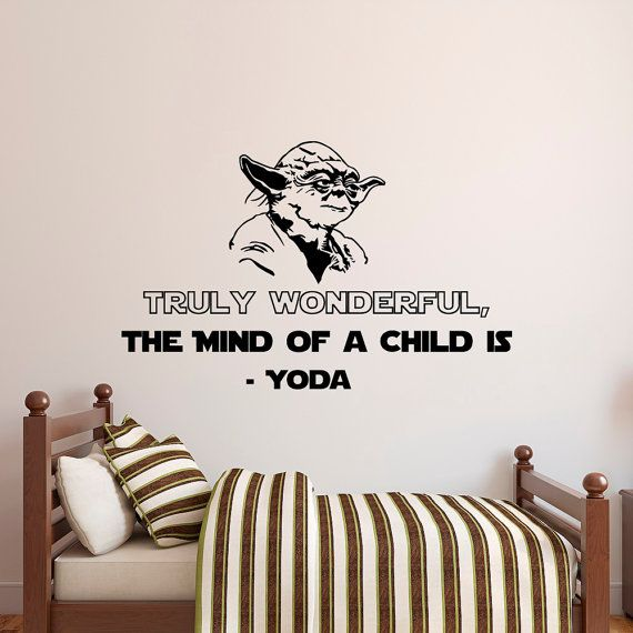 Star Wars Wall Decal Quote Truly Wonderful The by FabWallDecals
