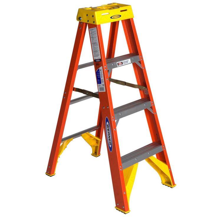 Werner Ladder 4-foot Step Ladder