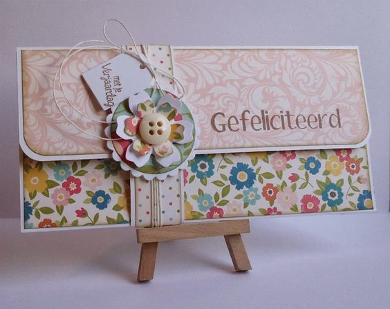 Because it's fun to create...: SOS #18 Zelfgemaakte cadeau enveloppen