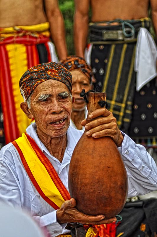 Manggarai tribe. Flores, Indonesia.