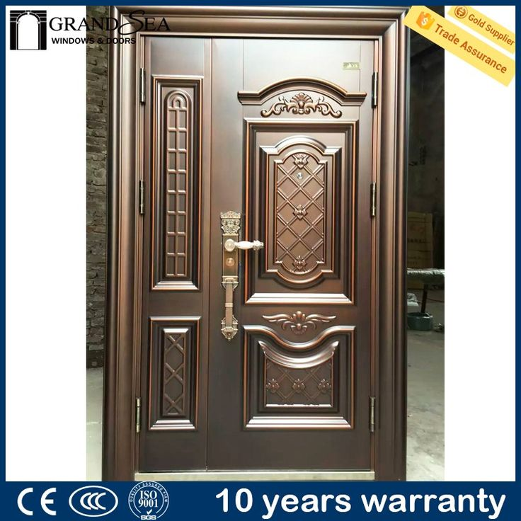 Guangzhou main door godrej steel almirah designs with for New main door