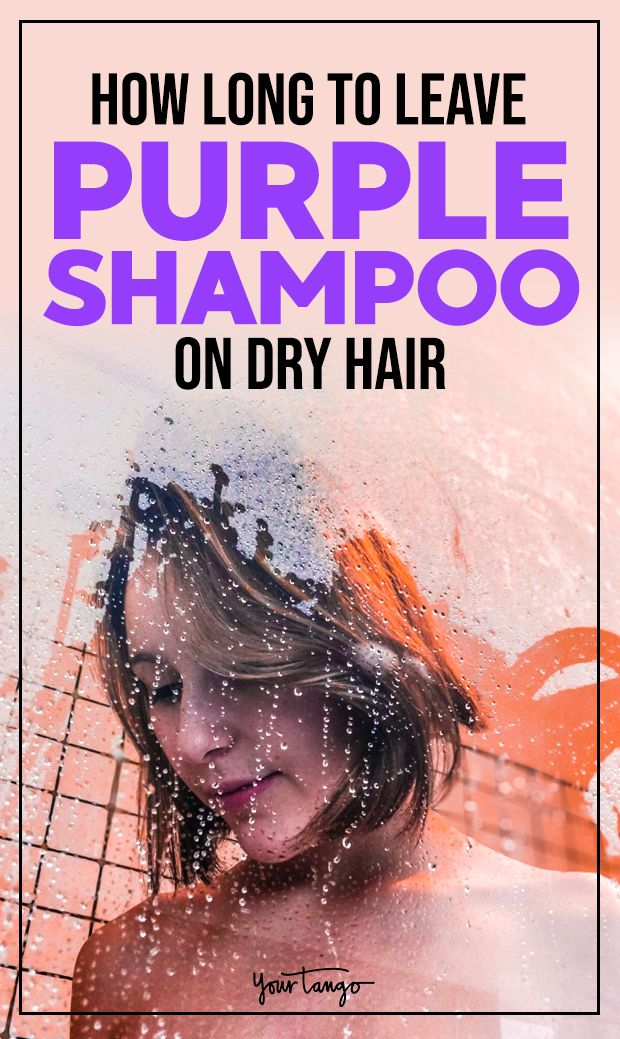 Why You Should Never Use Purple Shampoo On Dry Hair Plus The Best Products To Keep Your Blonde Hair Shiny Sleek Purple Shampoo Dry Hair Dry Shampoo Hairstyles
