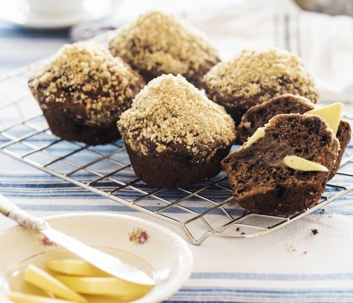 LeaderBrand Beet muffins