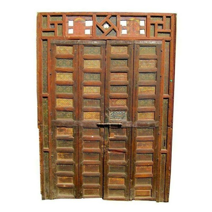 19th Century Moroccan Storefront Doors - $9,500 Est. Retail - $3,500 on Chairish.com