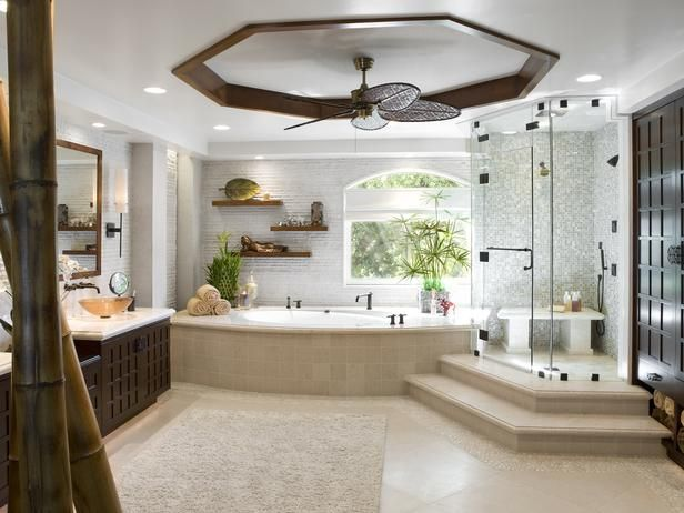 this would work..: Bathroom Design, Dreams Houses, Modern Bathroom, Big Bathroom, Masterbath, Dreams Bathroom, Bathroom Ideas, Master Bathroom, Ceilings Fans