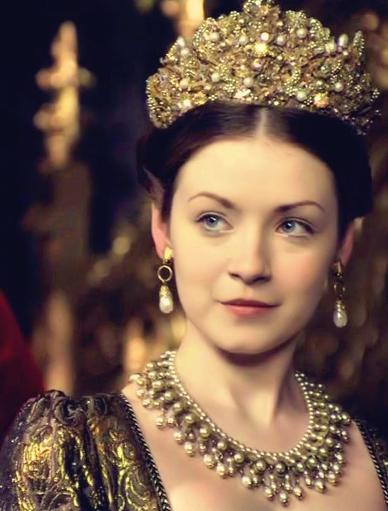 "Sarah B. as Princess Mary Tudor in ""The Tudors"""