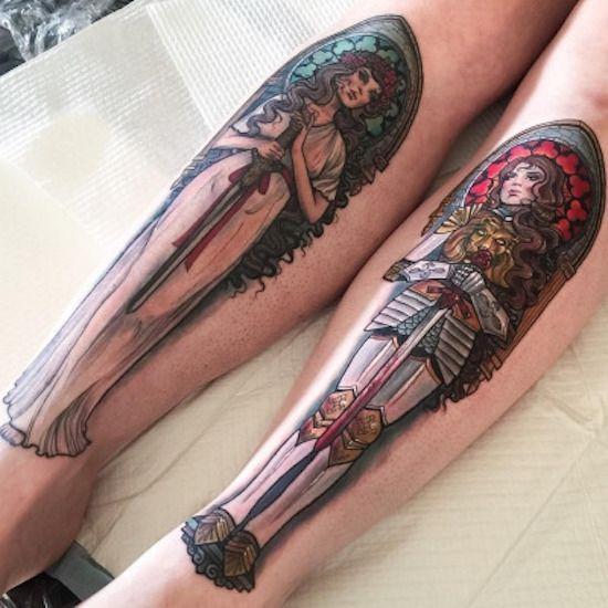 Liefhebbers van tatoeages komen weer volledig aan hun trekken (4) | Skoften.net