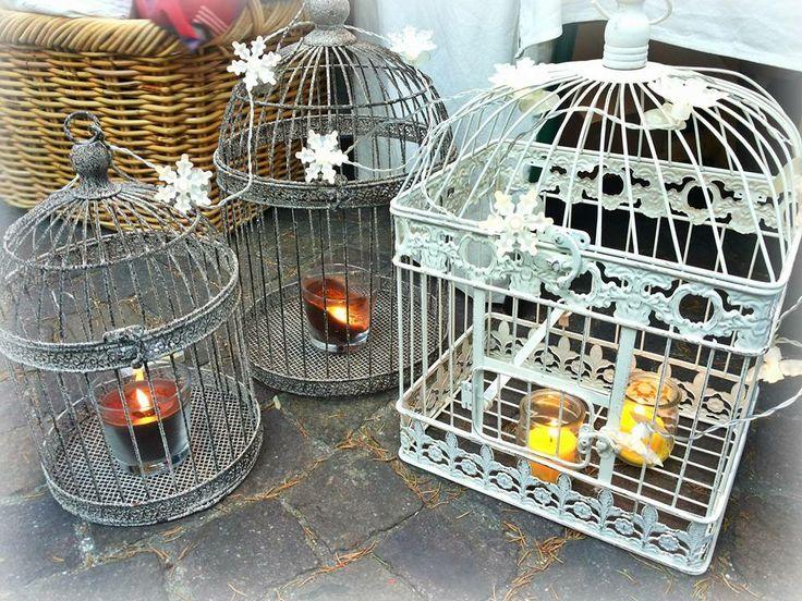 Light candles christmas market