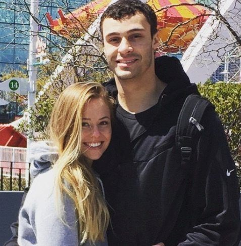 Hailey Pince, the beautiful girlfriend of Los Angeles Lakers power forward player Larry Nance Jr. whoalsoplayed at the University of Wyoming