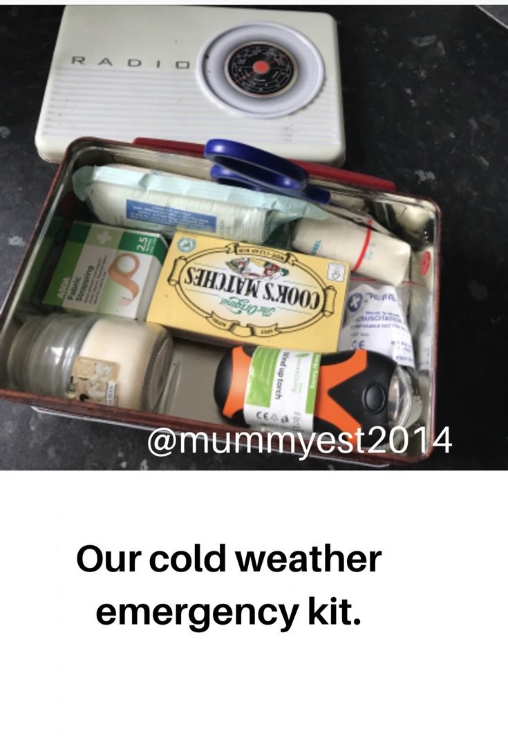 As we prepare for more cold weather I have made sure that our emergency kits are all fully stocked and we have bottles of water ready. Find out more... https://mummyest2014.wordpress.com/2017/11/07/our-winter-emergency-box/