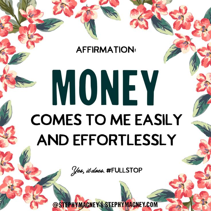 Unblock the flow of abundance. Say this: Money comes to me easily and effortlessly. #Affirmation #LoA http://www.lawofatractions.com/loa-power-opens-door-new-life/