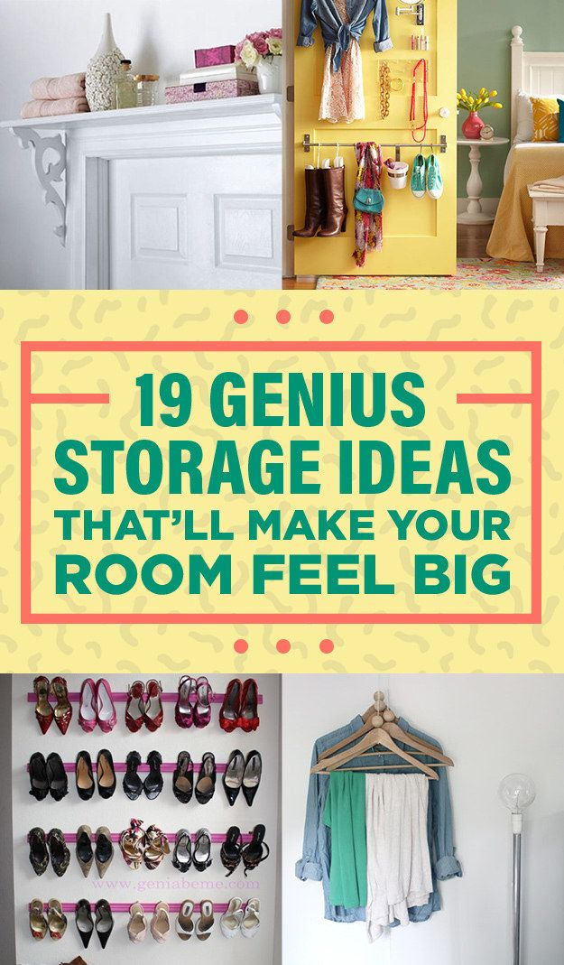 19 genius storage ideas everyone with a tiny room will