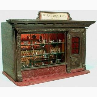 Eugene Kupjack Silversmith Shop With 58 Silver Objects And Four Pieces Of Furniture From The