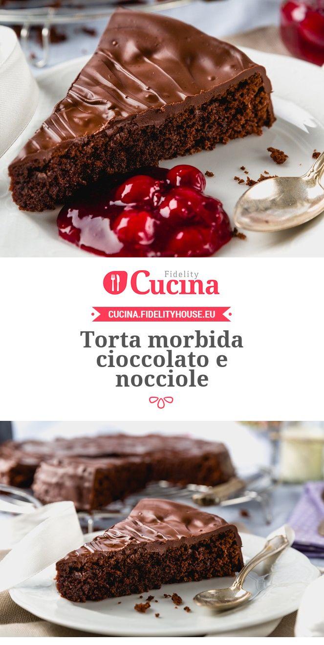 #Torta morbida #cioccolato e #nocciole