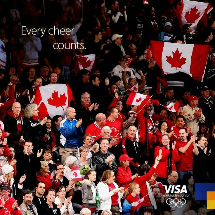 We all cheer for Canada:-) :-) :-) :-)