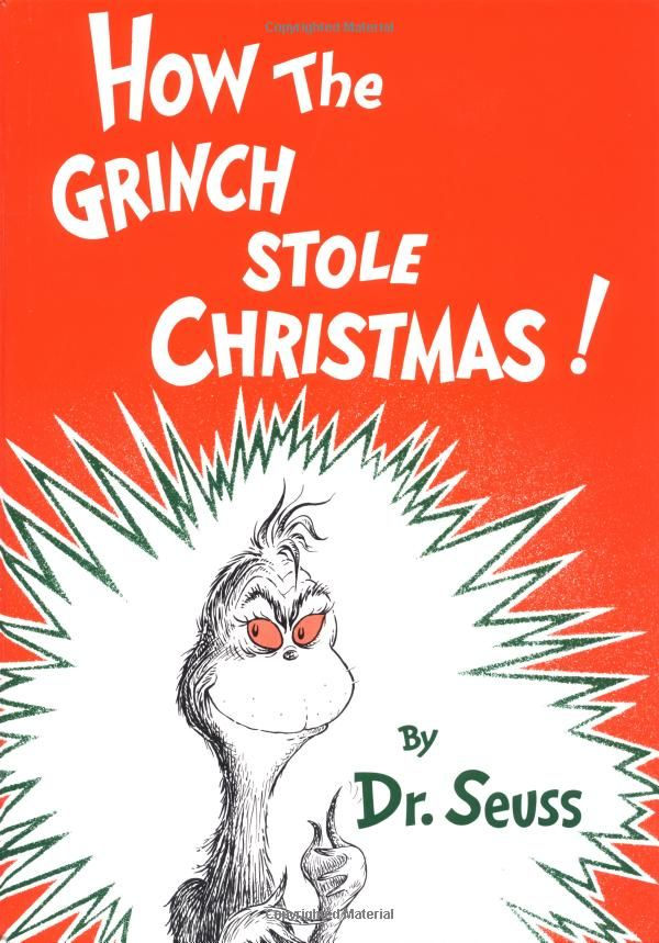 Dr. Seuss' How The Grinch Stole Christmas - Christmas books for kids