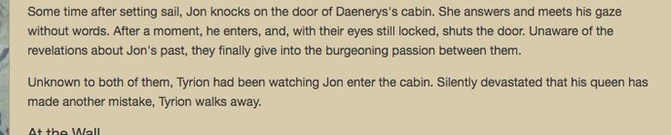 [EVERYTHING] Someone wrote this in the wiki page for the last game of thrones episode.