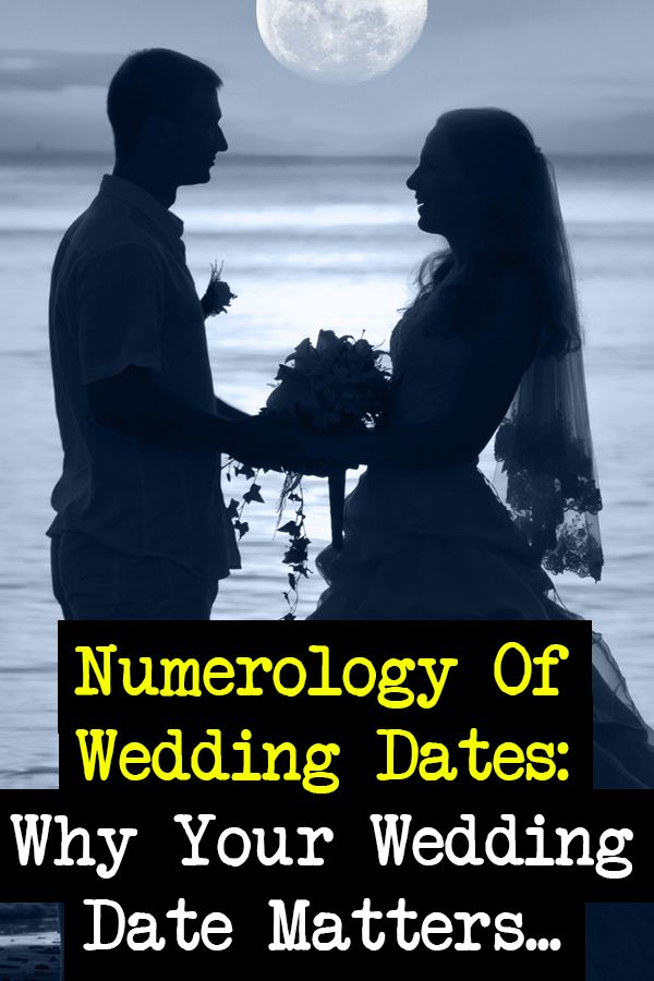 Wedding date #numerology... http://numerologysecrets.net/wedding-date-numerology/