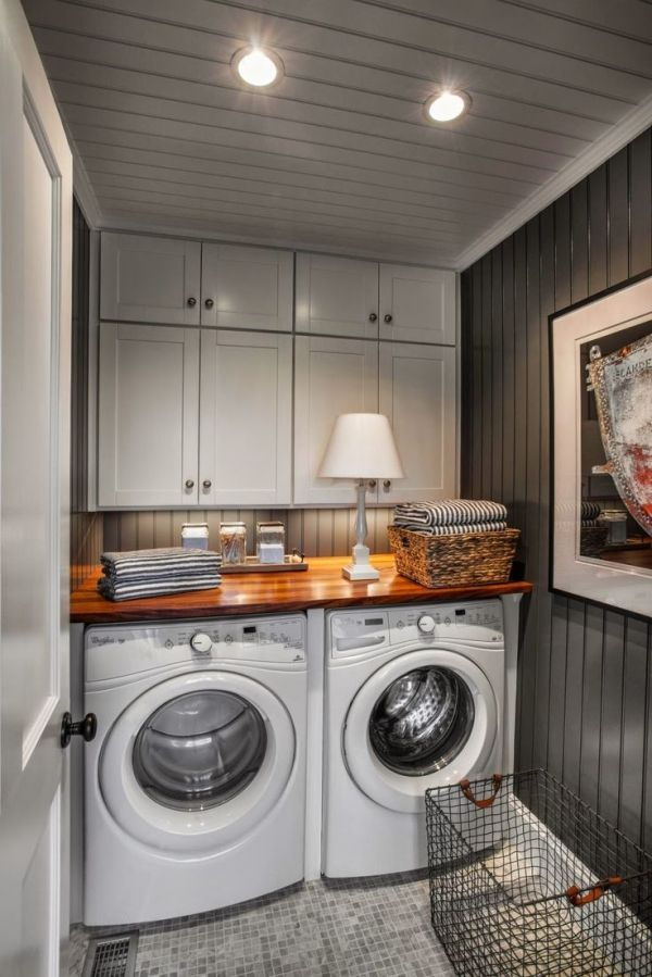 Small laundry room ideas by kitty