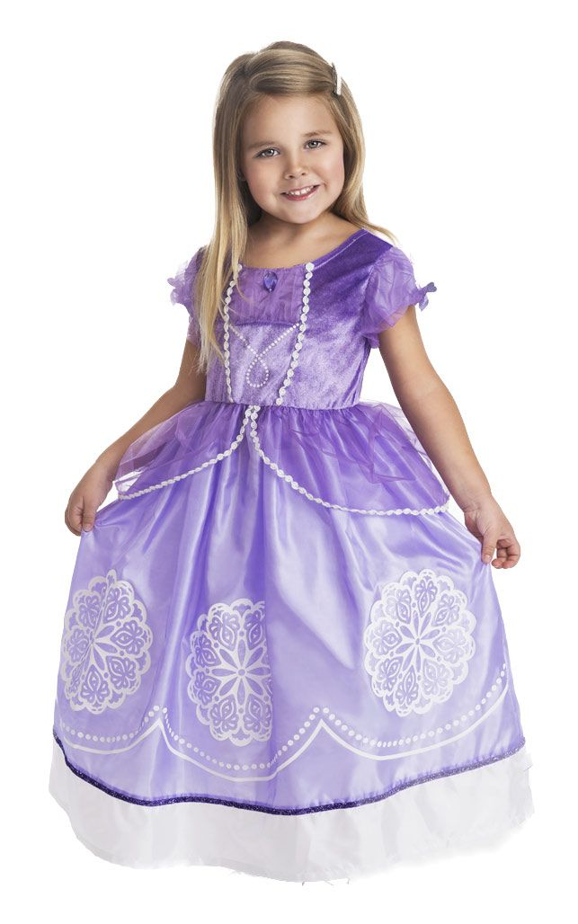 99d5ae921 Princess Sofia Inspired Dress Up Costume for dress up or Sofia the First  birthday party. Love that it's very soft, non-i… | Fancy Girl & Princess  Stuff ...