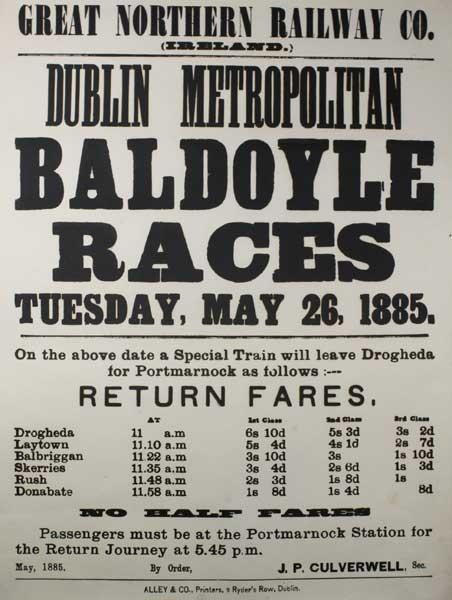 1885 Baldoyle Races
