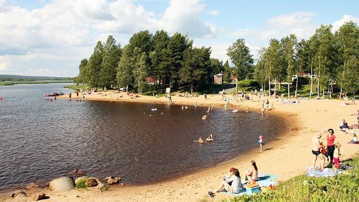 Rovaniemi Beach, Ounaspaviljonki. Photo by Sauli Antikainen, YLE