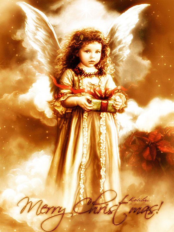 Ангелы открытки гиф