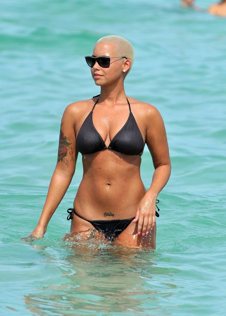 The talented Amber Rose ...... She also starred in a PSA by NOH8 Campaign
